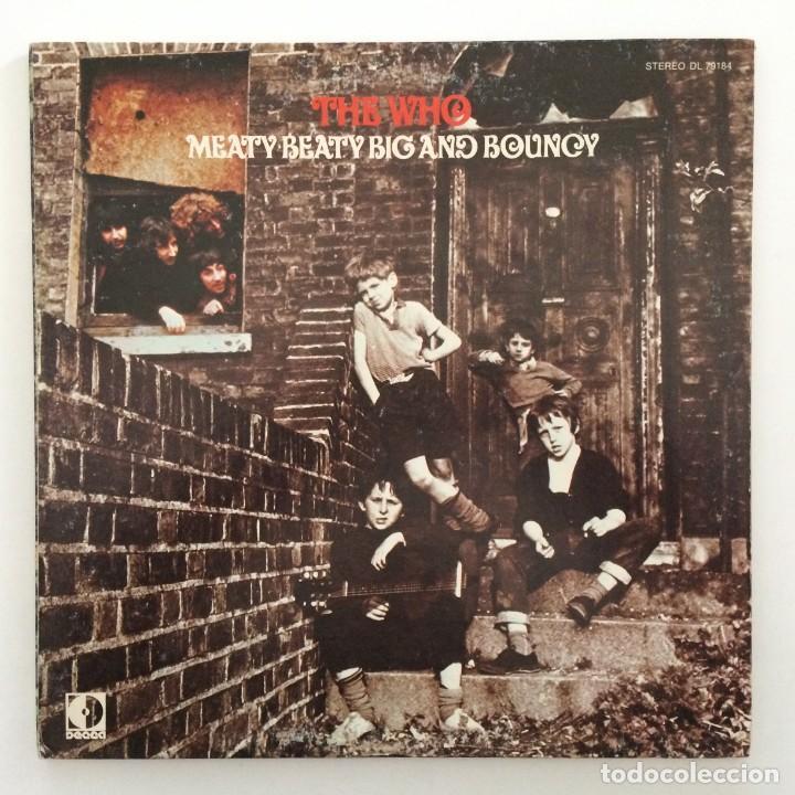 THE WHO – MEATY BEATY BIG AND BOUNCY USA,1971 DECCA (Música - Discos - LP Vinilo - Pop - Rock - Internacional de los 70)