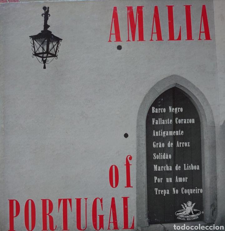 """AMALIA RODRIGUES 10"""" SELLO ÁNGEL RÉCORDS EDITADO EN USA... (Música - Discos - LP Vinilo - Étnicas y Músicas del Mundo)"""