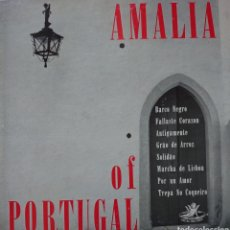 """Discos de vinilo: AMALIA RODRIGUES 10"""" SELLO ÁNGEL RÉCORDS EDITADO EN USA.... Lote 255984890"""