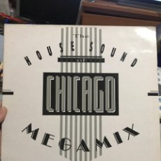 Discos de vinilo: CHICAGO DANCE HOUSE SOUND . DJ INTERNACIONAL RECORDS . DISCAZO. Lote 255985200
