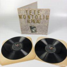 Discos de vinilo: 2LP - TETE MONTOLIU AL PALAU (EDIGSA/ZELESTE, 1979). Lote 255985370
