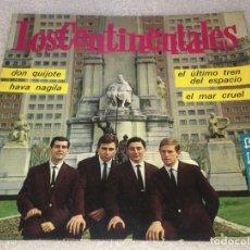 Discos de vinilo: EP LOS CONTINENTALES - DON QUIJOTE Y OTROS TEMAS - BELTER 51.357 -PED MINIMO 7€. Lote 255987435