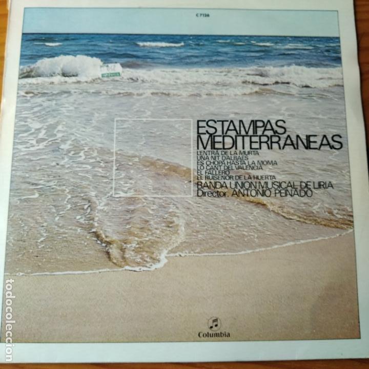 ESTAMPAS MEDITERRANEAS, BANDA UNION MUSICAL DE LIRIA - LP.MUSICA VALENCIANA. (Música - Discos - LP Vinilo - Étnicas y Músicas del Mundo)