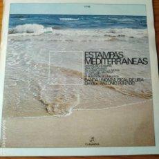 Discos de vinilo: ESTAMPAS MEDITERRANEAS, BANDA UNION MUSICAL DE LIRIA - LP.MUSICA VALENCIANA.. Lote 255991550