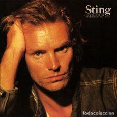 Discos de vinilo: STING – ...NADA COMO EL SOL (SELECCIONES ESPECIALES EN ESPAÑOL Y PORTUGUES). Lote 255991735