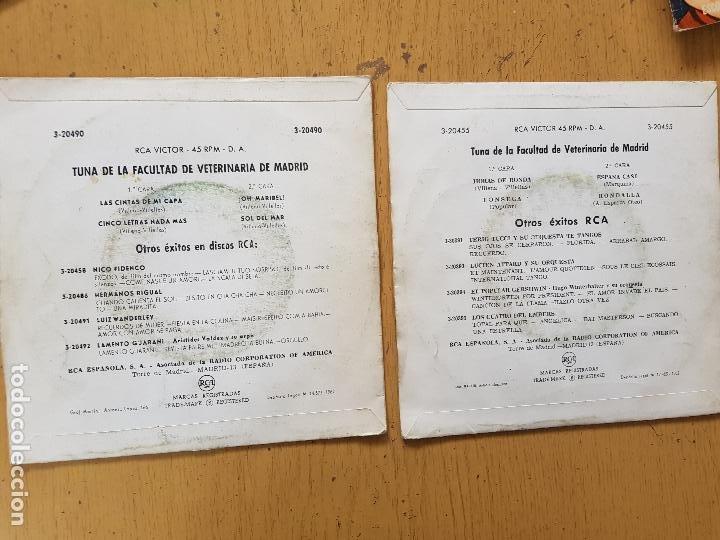 Discos de vinilo: TUNA DE LA FACULTAD DE VETERINARIA DE MADRID - Foto 2 - 255998005