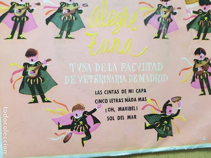 Discos de vinilo: TUNA DE LA FACULTAD DE VETERINARIA DE MADRID - Foto 3 - 255998005