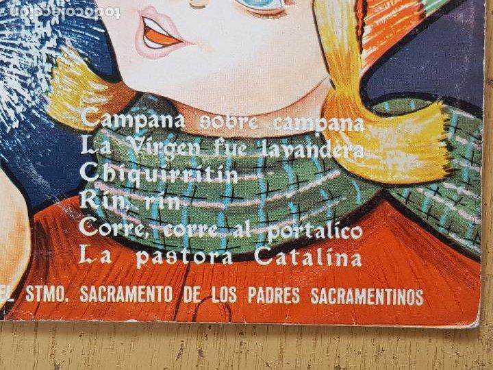 Discos de vinilo: VILLANCICOS,ESCOLANOA DEL STMO.SACRAMENTO DE LOS PADRES SACRAMENTINOS - Foto 3 - 255998470