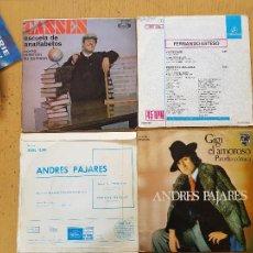 Discos de vinilo: ANDRES PAJARES-FERNANDO ESTESO-CASSES. Lote 255998650