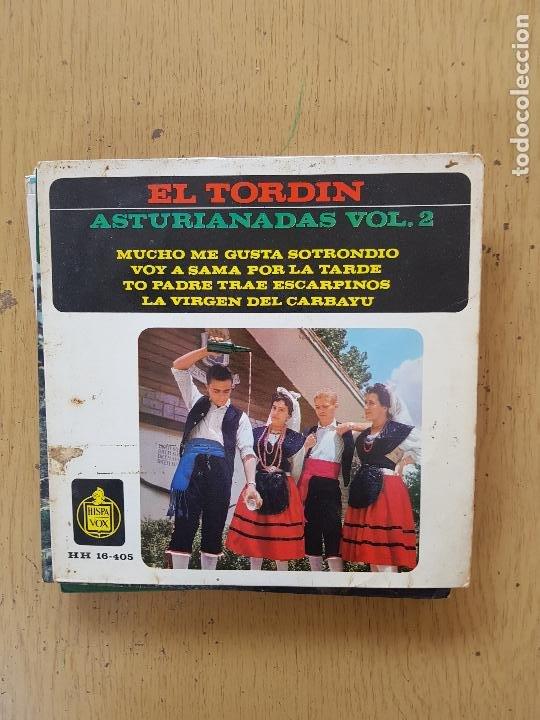 Discos de vinilo: PRESI-DIAMANTINA-JOSE NORIEGA-SIDRINA LA DE ASTURIAS-EL TORBIN - Foto 3 - 255999110