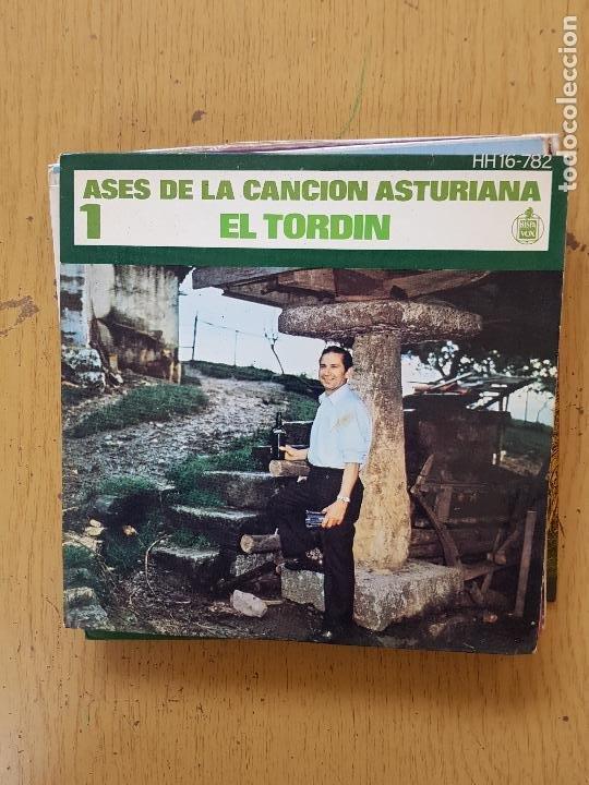 Discos de vinilo: PRESI-DIAMANTINA-JOSE NORIEGA-SIDRINA LA DE ASTURIAS-EL TORBIN - Foto 4 - 255999110