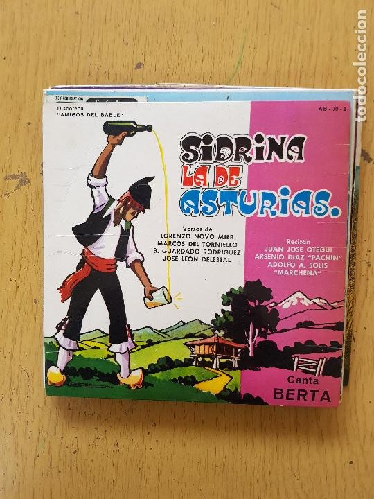 Discos de vinilo: PRESI-DIAMANTINA-JOSE NORIEGA-SIDRINA LA DE ASTURIAS-EL TORBIN - Foto 5 - 255999110