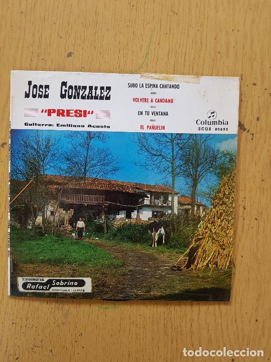 Discos de vinilo: PRESI-DIAMANTINA-JOSE NORIEGA-SIDRINA LA DE ASTURIAS-EL TORBIN - Foto 9 - 255999110
