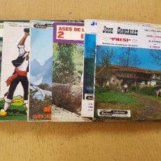 Discos de vinilo: PRESI-DIAMANTINA-JOSE NORIEGA-SIDRINA LA DE ASTURIAS-EL TORBIN. Lote 255999110