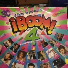 Discos de vinilo: BOOM 4 . 2 LPS MAS DE 2 HORAS DE LANEJOR MUSICA .. Lote 255999340