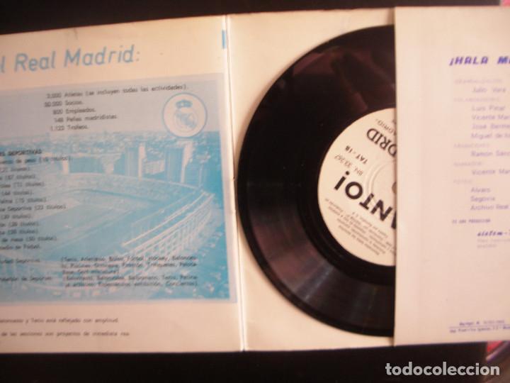 Discos de vinilo: ¡ HALA MADRID!- HISTORIA DEL REAL MADRID. SINGLE - Foto 3 - 255999600