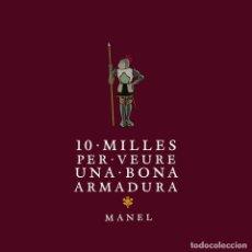 Discos de vinilo: LP MANEL ELS MILLORS PROFESSORS EUROPEUS VINILO. Lote 255999780