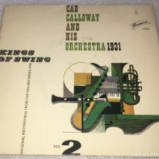 Discos de vinilo: EP CAB CALLOWAY AND HIS ORCHESTRA 1931 KINGS SWING - YOU RASCAL YOU Y OTROS TEMAS -PEDIDO MINIMO 7€. Lote 256003160