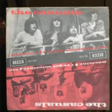 Discos de vinilo: THE CASUALS . JESAMINE. DECCA 1968 SPAIN.. Lote 256011375