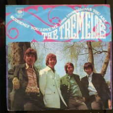 Discos de vinilo: THE TREMELOES . SUDDENLY YOU LOVE ME. UNO TRANQUILO. SP CBS 1968. Lote 256011740