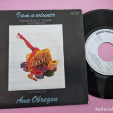 Discos de vinilo: ANA OBREGON -I ´AM A WINNER + NO ES VERDAD SINGLE VINILO 1983 SPAIN. Lote 256012925