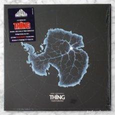 Discos de vinilo: LP - ENNIO MORRICONE - JOHN CARPENTER'S THE THING - WAXWORK - 2020 (VINILO TRANSPARENTE 180 GR). Lote 256019770