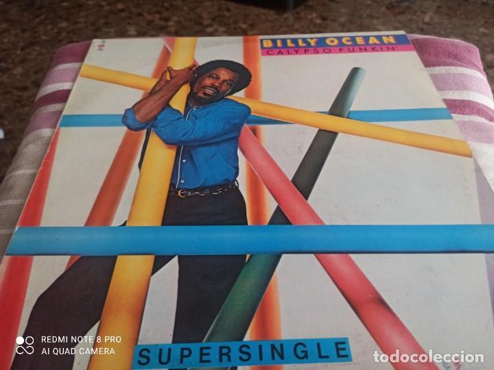 MAXI VINILO BILLY OCEAN (Música - Discos de Vinilo - Maxi Singles - Pop - Rock - New Wave Internacional de los 80)
