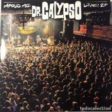 Discos de vinilo: DR.CALYPSO: APOLO 10. LIVE! . DOBLE LP VINILO - SKA REGGAE ROCKSTEADY LATIN SOUL. Lote 256023775