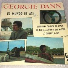 Discos de vinilo: EP GEORGIE DANN - EL MUNDO ES ASI Y OTROS TEMAS - LA VOZ DE SU AMO EPL14.359 -PEDIDO MINIMO 7€. Lote 256024120