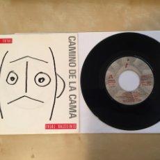 """Discos de vinilo: SINIESTRO TOTAL - CAMINO DE LA CAMA - PROMO 7"""" - 1990. Lote 256027580"""