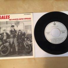 """Discos de vinilo: ILEGALES - ME GUSTA COMO HUELES - SINGLE PROMO 7"""" - 1990 SPAIN HISPAVOX - EN MUY BUEN ESTADO. Lote 256028780"""
