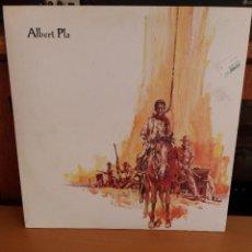 Discos de vinilo: LP ** ALBERT PLA ** AQUI S'ACABA EL QUE ES DONAVA ** COVER/MINT ** LP/ NEAR MINT / MINT **1990. Lote 256032220
