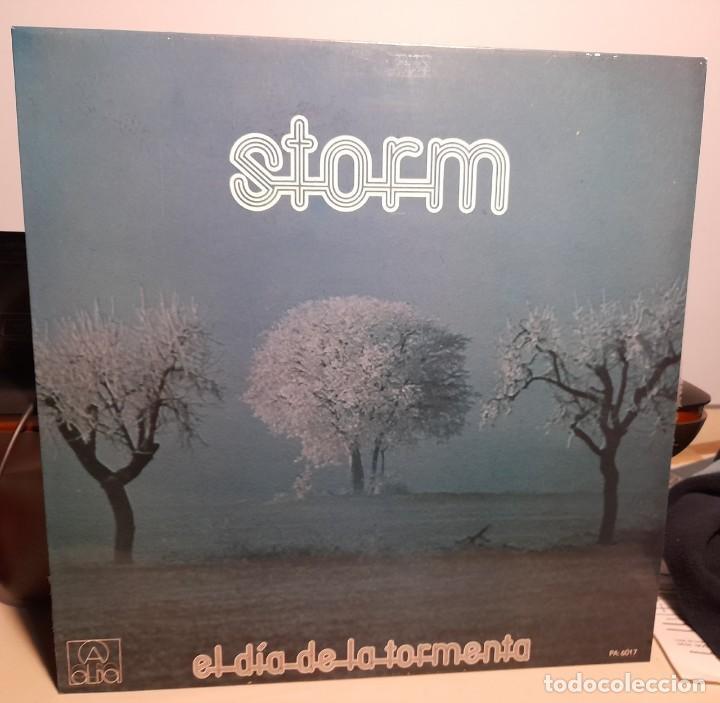 LP STORM : EL DIA DE LA TORMENTA ( COMPLETAMENTE NUEVO, EDICION ORIGINAL, CON INSERTO LETRAS ) (Música - Discos - LP Vinilo - Grupos Españoles de los 70 y 80)