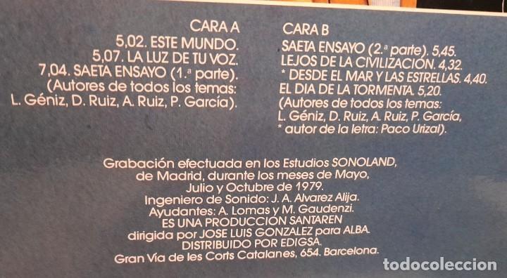 Discos de vinilo: LP STORM : EL DIA DE LA TORMENTA ( COMPLETAMENTE NUEVO, EDICION ORIGINAL, CON INSERTO LETRAS ) - Foto 3 - 256033100