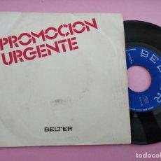 Disques de vinyle: BRAULIO (SOBRAN LAS PALABRAS. EUROVISION 1976) SINGLE ESPAÑA 1976. Lote 256033630