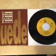 """Discos de vinilo: SUEDE - THE DROWNERS - SINGLE PROMO 7"""" - 1993 SPAIN. Lote 256034440"""