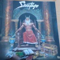 Discos de vinilo: SAVATAGE HALL OF THE MOUNTAIN KING LP 1987. Lote 256037200
