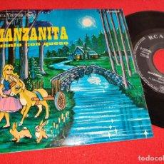 Discos de vinilo: MANZANITA CUENTO CON QUESO ANGEL ECHENIQUE & GARCIA MORCILLO EP 7'' 1964 RCA VICTOR. Lote 256046220