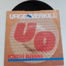 Discos de vinilo: URGE OVERKILL, POSITIVE BLEEDING 1994. Lote 256047960
