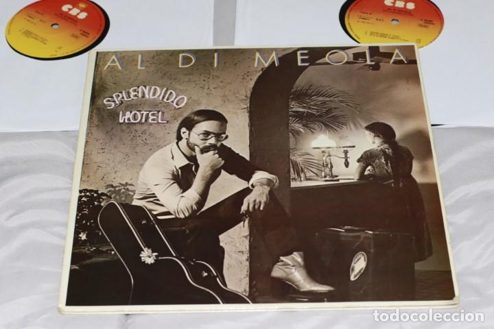 AL DI MEOLA - SPLENDIDO HOTEL - ESPAÑA - 1980 - 2XLP - GATEFOLD - VG/VG+ (Música - Discos - LP Vinilo - Jazz, Jazz-Rock, Blues y R&B)