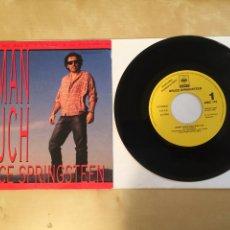 "Discos de vinilo: BRUCE SPRINGSTEEN - HUMAN TOUCH - PROMO SINGLE 7"" - 1992 SPAIN. Lote 256055835"