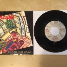 "Discos de vinilo: ROSENDO - ANDAR POR CASA - PROMO SINGLE 7"" - 1992. Lote 256059810"