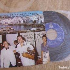 Discos de vinilo: DISCO PROMOCIONAL. ANTONIO LATORRE. -IV FESTIVAL DE LA CANCIÓN- 1976. PROBADO.. Lote 256066425