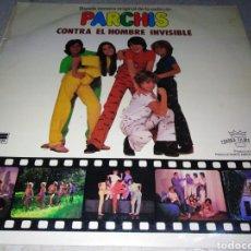 Discos de vinilo: PARCHÍS-BSO DE LA PELÍCULA CONTRA EL HOMBRE INVISIBLE-RARO. Lote 256067640