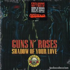 """Discos de vinilo: GUNS 'N' ROSES - SHADOW OF YOUR LOVE · RED 7"""" BLACK FRIDAY RSD 2018 · NEW & SEALED. Lote 256068720"""