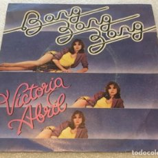 Discos de vinilo: SINGLE VICTORIA ABRIL - BANG BANG BANG - DEJAME - EMI 10C006.021.580 -PEDIDO MINIMO 7€. Lote 256087035