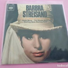 Disques de vinyle: BARBRA STREISAND – SAM, YOU MADE THE PANTS TOO LONG. Lote 256091325
