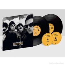 Discos de vinilo: LOS RODRIGUEZ - DIRECTO EN LAS VENTAS - CD+DVD+DOBLE VINILO. Lote 256096080