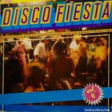 Discos de vinilo: DISCO FIESTA. SIN PAUSA. PEPE GALAN & LOS RITMICOS. VOL 4. LP. Lote 256099575
