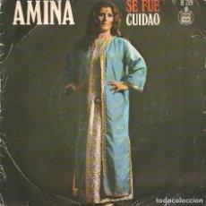 Disques de vinyle: AMINA,SE FUE DEL 71. Lote 256103340